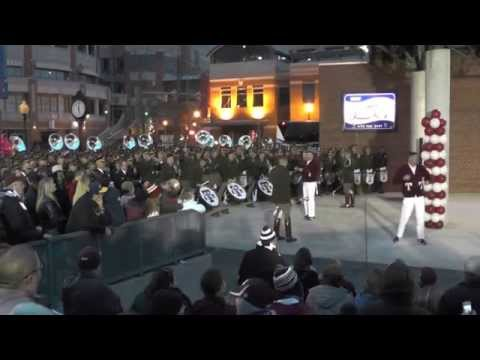 Fightin' Texas Aggie Band at Liberty Bowl Battle of the Bands - Round 1