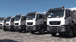 Rafaelo 2002.  kamion MAN te ardhur nga Gjermania