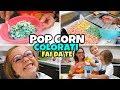 FACCIAMO I POP CORN COLORATI: Cibo Reale VS Play Doh