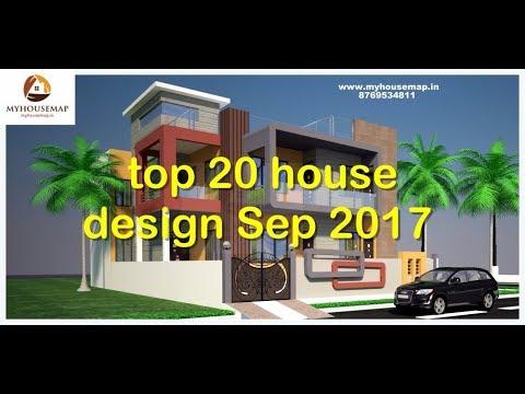 top 20 house design sep 2017 elevation design floor plan color