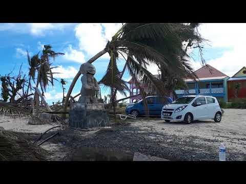 Orient baie 28 novembre 2017 after hurricane Irma St Martin