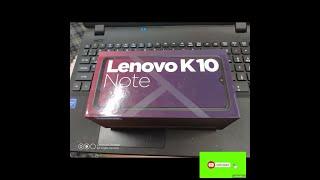 Lenovo K10 Note Dual SIM - 128GB, 6GB RAM, 4G LTE, Louise Lake