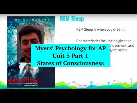 Unit 5 Myers' Psychology for AP - Part 1