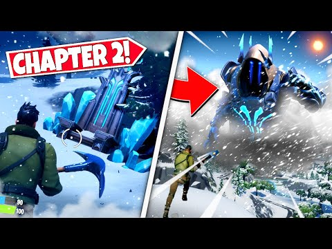 *NEW* PLAYERS DISCOVER ICE KINGS *THRONE* EASTER EGG IN CHAPTER 2! (Battle Royale)