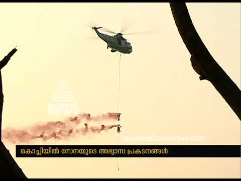 Indian Navy in Kochi showcases its operational capabilities