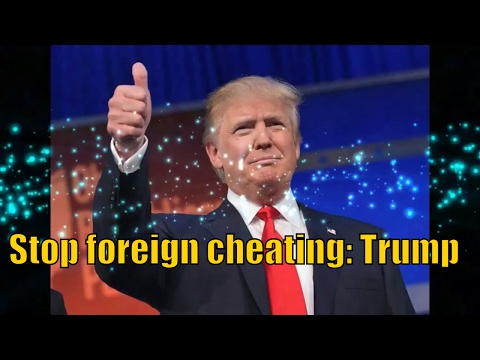 Stop foreign cheating: Trump vows penalties for companies that outsource American jobs