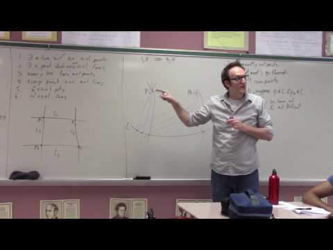 Discrete Math - Rose - The Finite Projective Plane - Part 1 of 2