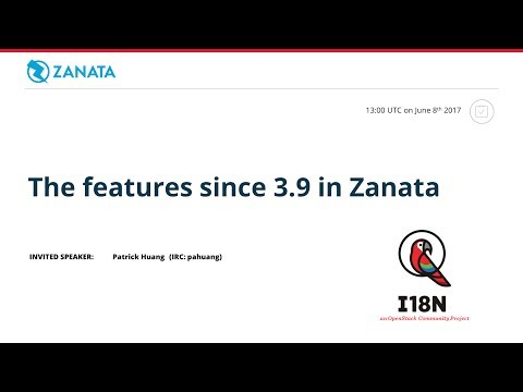 [I18n] The features since 3.9 in Zanata