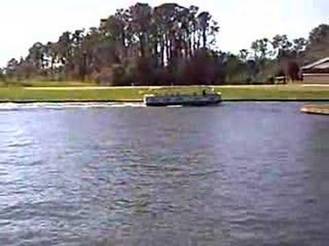 Disney Vacation Club's Saratoga Springs Boat transportation