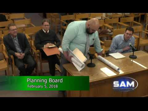 Southborough Planning Board Meeting February 5, 2018