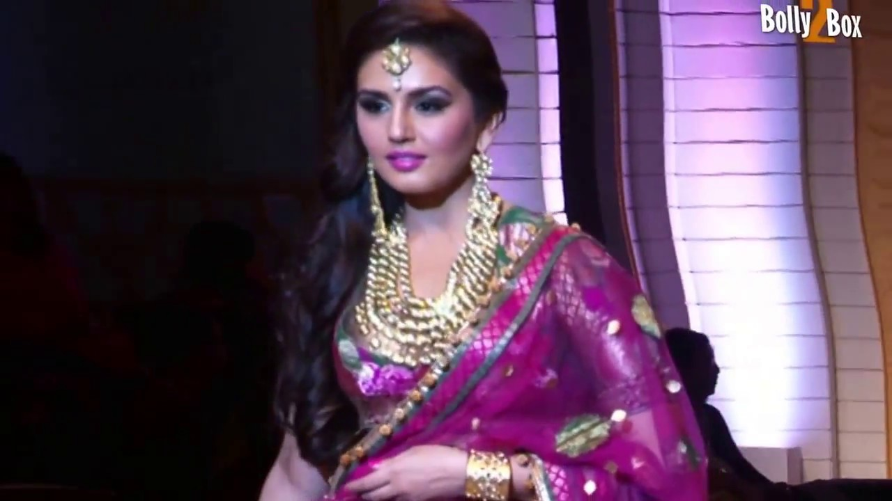 huma qureshi at india bridal fashion week bolly 2 box