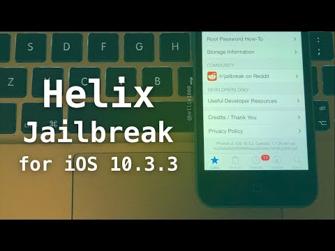 How to Jailbreak iOS 10 3 3 with H3lix - NEW Jailbreak for 32-bit