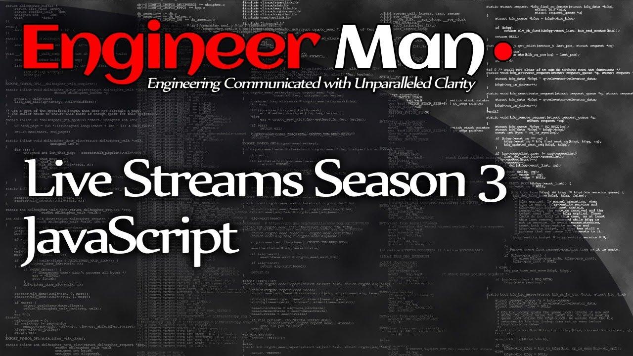JavaScript - EM Live