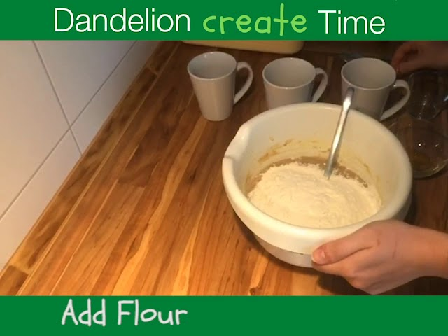 Dandelion Create Time | Banana Bread (Vegan)