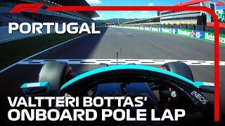 Valtteri Bottas's Onboard Pole Lap | 2021 Portuguese Grand Prix | Pirelli