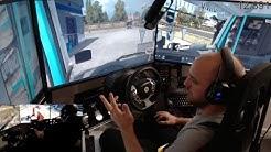 euro truck simulator 2 live lets drive E19 huge 50+ convoy