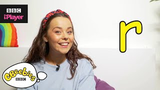 "Learn letter ""r"" with Evie and Dodge 