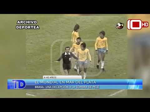 El Mundial en Mar del Plata: Brasil, una decepción a la sombra de Pelé