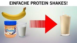 Mach einen Protein Shake ganz ohne Proteinpulver!