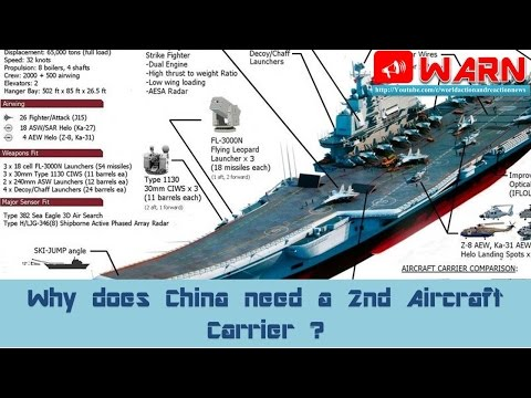 Why does China need a 2nd Aircraft Carrier ?