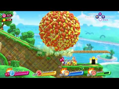 Dream Palace and Honey Hill! Kirby Star Allies