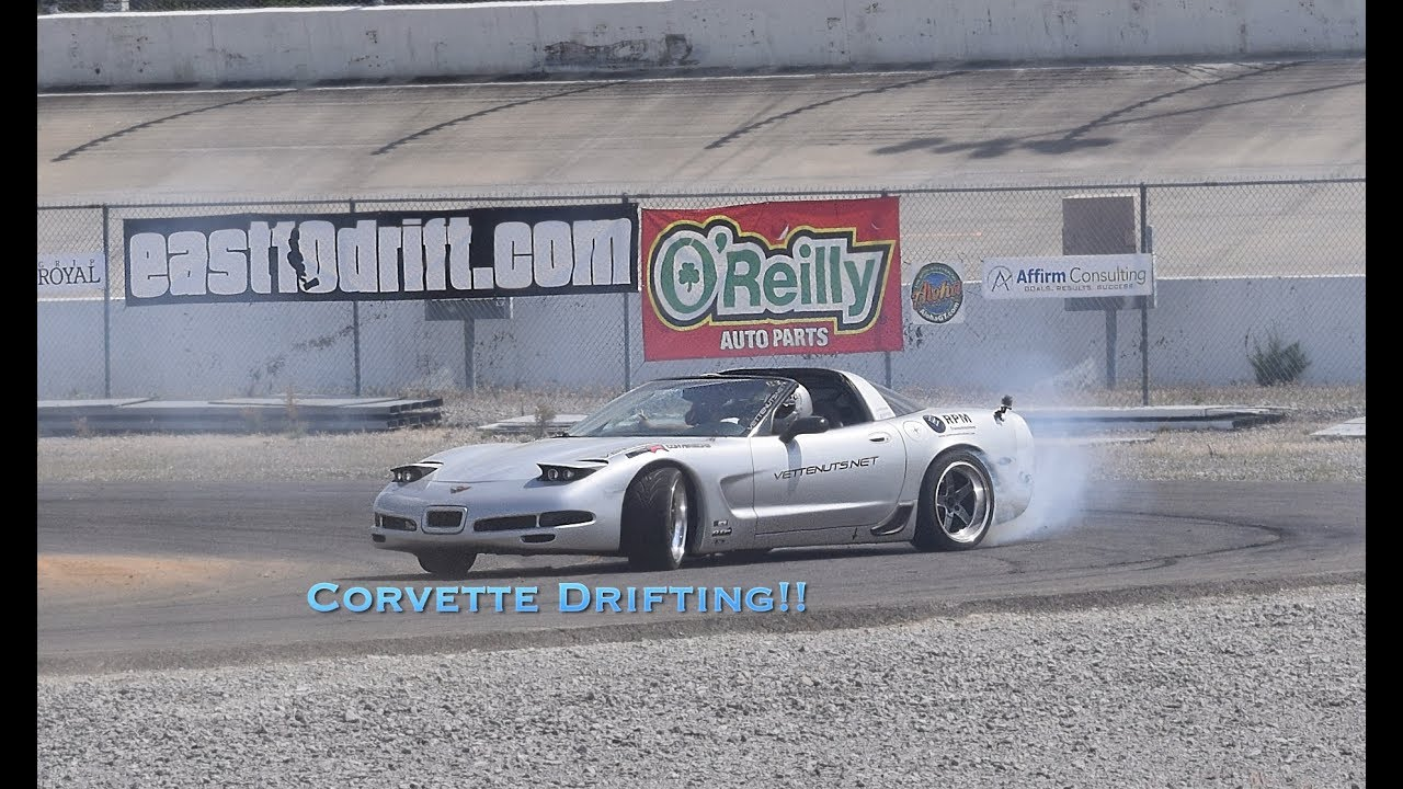 C4 Corvette Drift