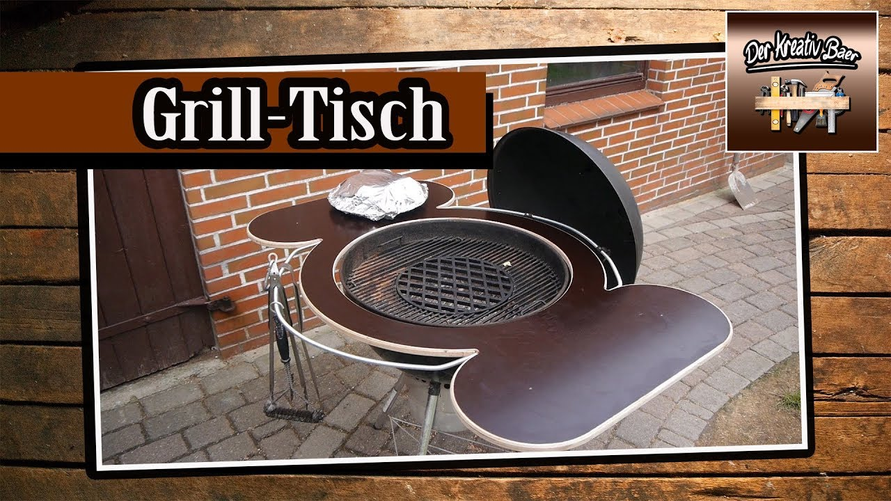abnehmbarer grilltisch grilltisch selber bauen barbecue table youtube. Black Bedroom Furniture Sets. Home Design Ideas