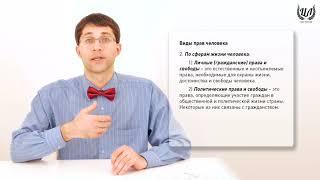 Обществознание (ЕГЭ). Урок 30. Конституционное право. Правовой статус личности. Гражданство РФ