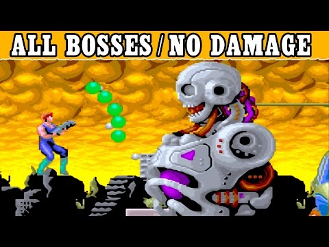 Bay Route (Arcade) - All Boss Fights [Hardest/No Damage] All Bosses Gameplay 1080p 60FPs