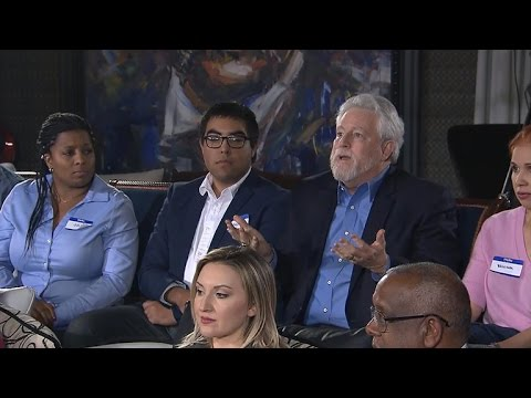 Focus group reacts to President Trump
