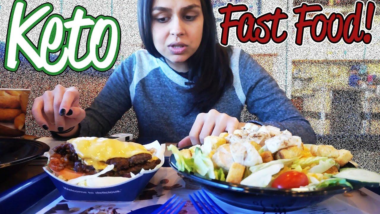 Keto Fast Food Places In Michigan | Steak N Shake VS Culvers Bang Bang - YouTube