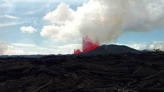 Leilani Estates #8 fissure 8:32 AM June 2, 2018 during the Kilauea eruption