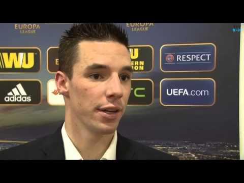 Nick Viergever is zeer content met overwinning op Maccabi Haifa
