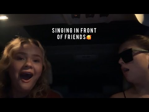 Download Singing In Front Of Friends And Other People For The First Time Compilation😍😘