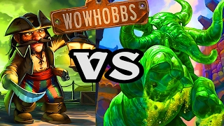 Hobbs VS Jade & Pirates ~ Mean Streets of Gadgetzan ~ Hearthstone