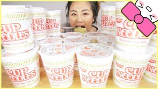 10 MINUTE CUP NOODLE CHALLENGE!!