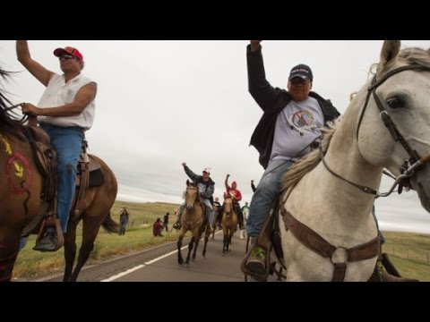 Protesters, security clash near North Dakota oil pipeline