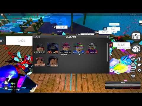 I won Valetine's items from JACKPOT!! Roblox Case Clicker