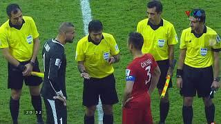 Giây phút đá luân lưu Việt Nam chiến thắng Jordan.
