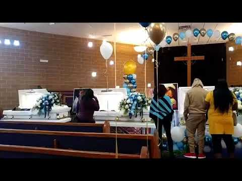 Download Funeral for family of 5, father killed his entire family