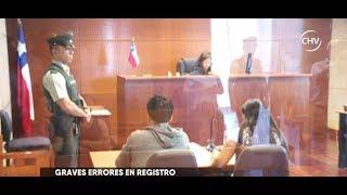Polémica por problema en el Registro Nacional de Pedófilos - CHV NOTICIAS