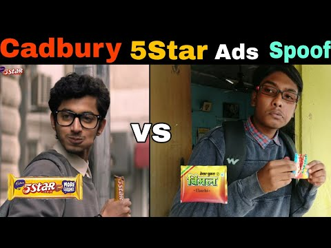 Cadbury 5 star  Film ads spoof Vimal pan masala version