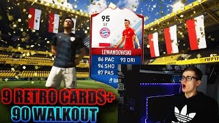 FIFA 17: OMFG 90 WALKOUT! BEST FUT BIRTHDAY PACK OPENING! 🔥⛔️ - 5x WALKOUT + 9 RETRO CARDS!