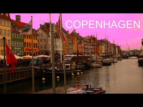 Copenhagen - 3 foreigners and 1 local in Scandinavia