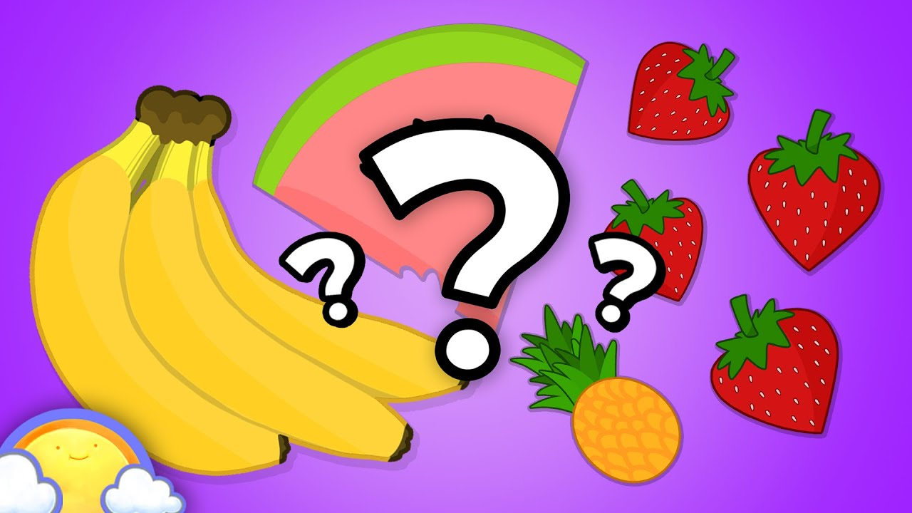 Fruit Guessing Game For Kids Cheeritoons Youtube