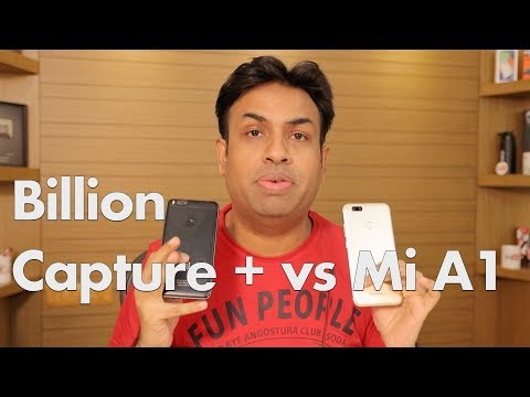Flipkart Billion Capture + Vs Mi A1 Camera Review & Comparison