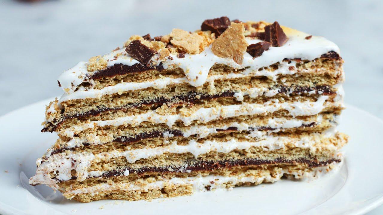 maxresdefault - 16-Layer No-Bake S'mores Cake