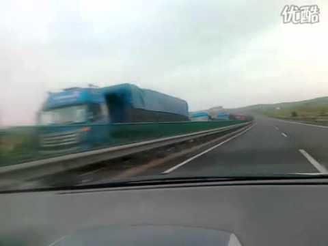 Beijing Expressway Traffic Jam