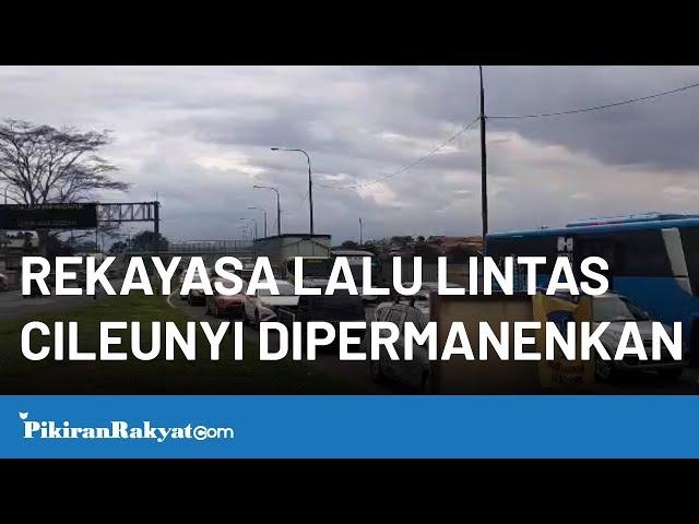 Rekayasa Lalu Lintas Dipermanenkan, Warga Dukung untuk Kurangi Kemacetan di Cileunyi