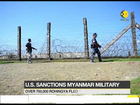 US sanctions Myanmar military commanders over Rohingya crackdown